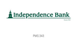 independence Bank light gray logo