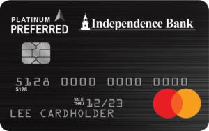 Consumer Platinum Preferred Credit Card